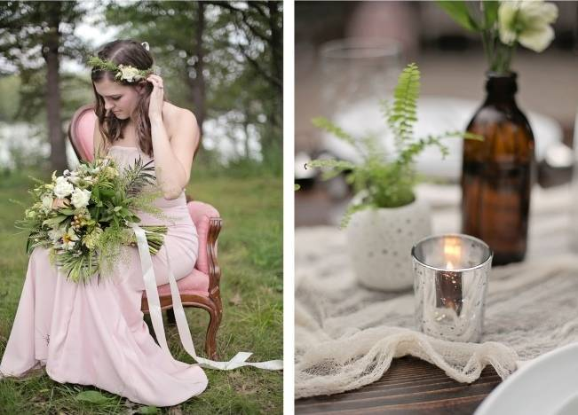 Woodsy Glamour Bridal Shoot {Bella Notte Photography} 14