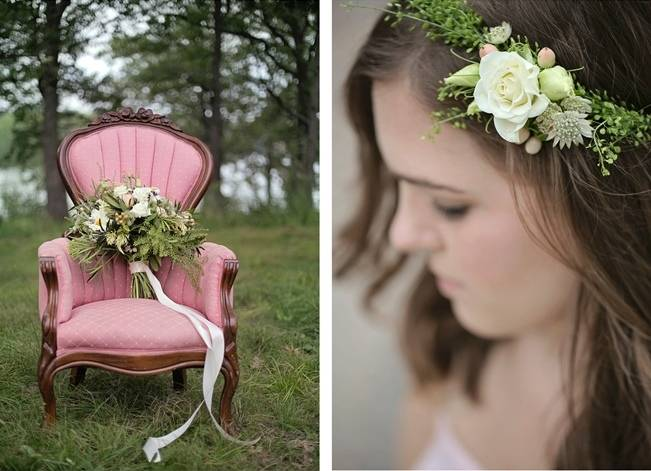 Woodsy Glamour Bridal Shoot {Bella Notte Photography} 2
