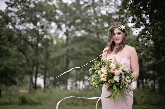Woodsy Glamour Bridal Shoot {Bella Notte Photography} 5