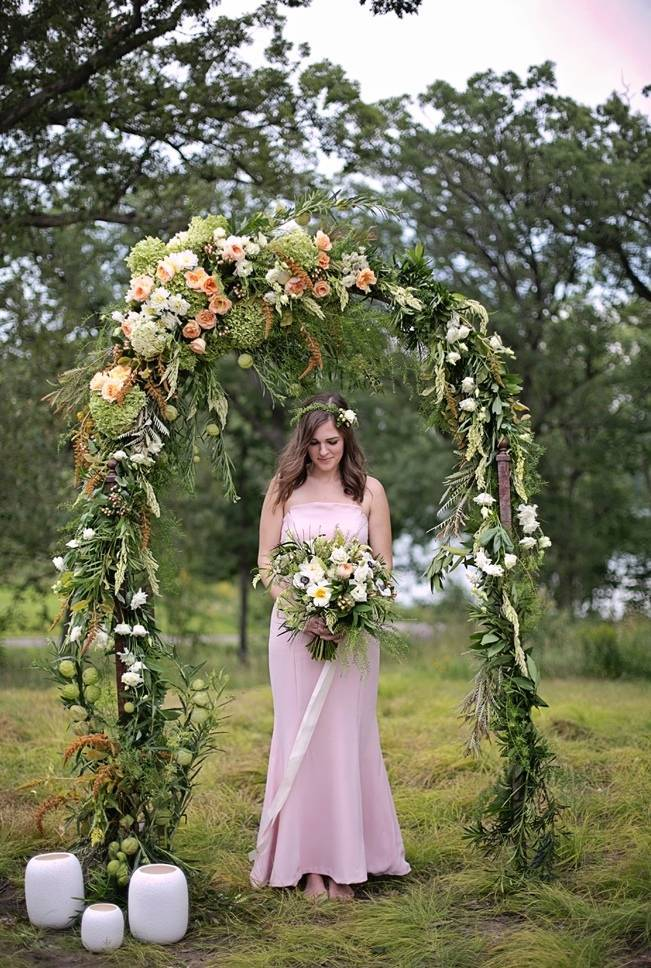 Woodsy Glamour Bridal Shoot {Bella Notte Photography} 6