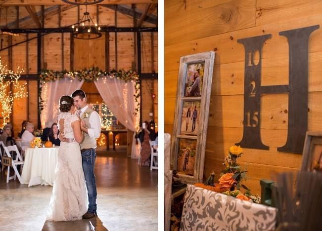 Autumn Country Barn Wedding at 9 Oaks Farm, Georgia {Claire Diana Photography} 24