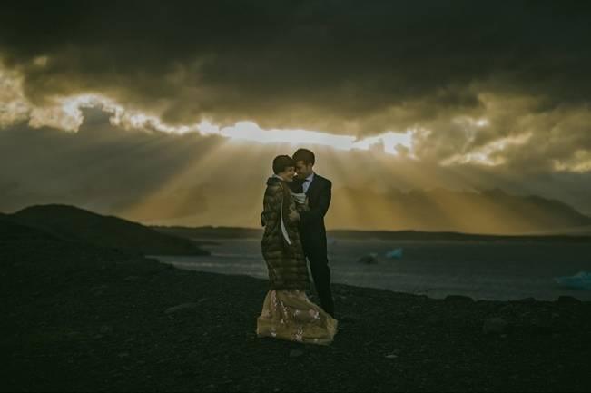 Destination Wedding in Iceland {M&J Studios} 13