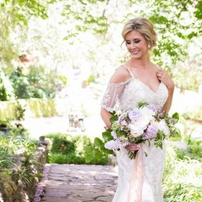 Lovely in Lilac: Wedding Styled Shoot at Chandor Gardens