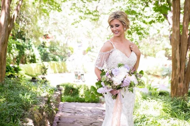 Lovely in Lilac Wedding Styled Shoot at Chandor Gardens 1