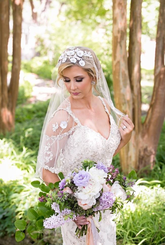 Lovely in Lilac Wedding Styled Shoot at Chandor Gardens 11