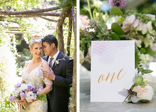 Lovely in Lilac Wedding Styled Shoot at Chandor Gardens 14
