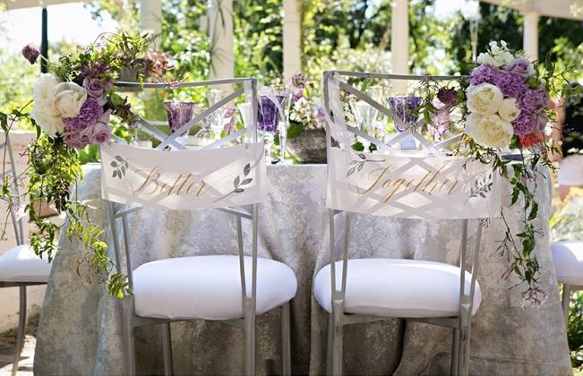 Lovely in Lilac Wedding Styled Shoot at Chandor Gardens 16