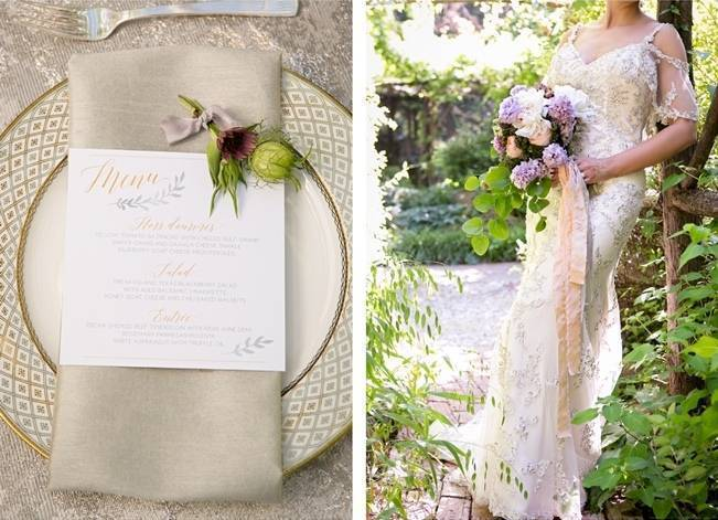 Lovely in Lilac Wedding Styled Shoot at Chandor Gardens 18