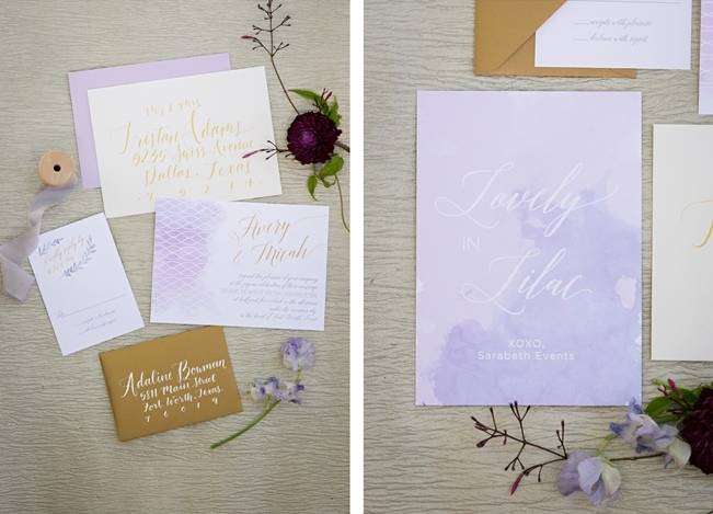 Lovely in Lilac Wedding Styled Shoot at Chandor Gardens 2