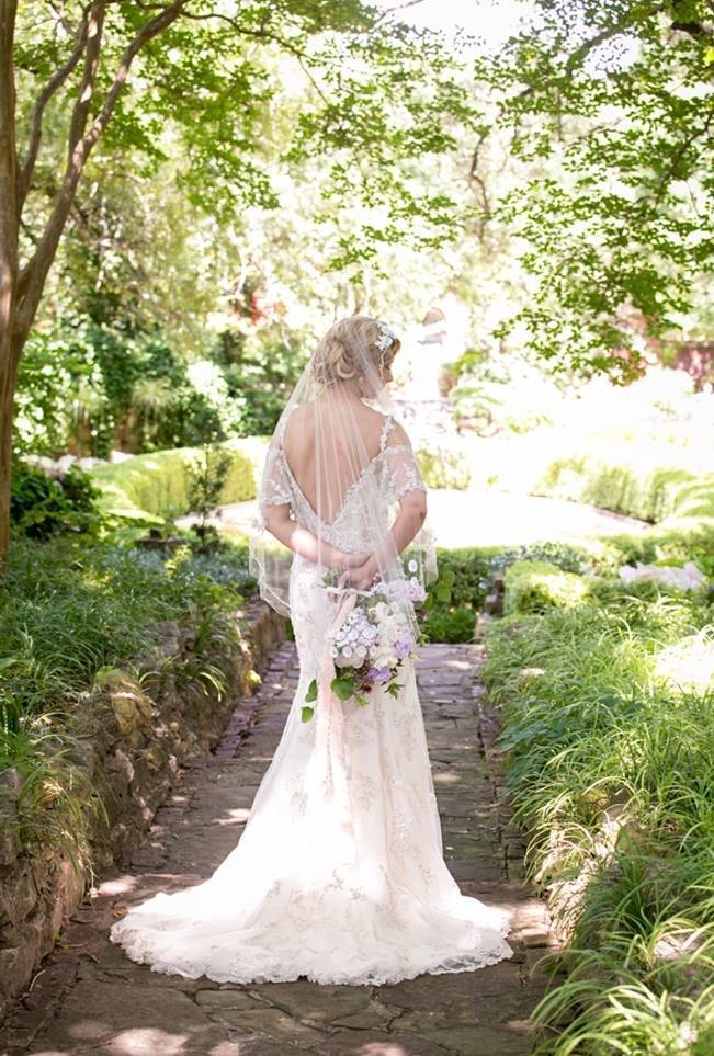 Lovely in Lilac Wedding Styled Shoot at Chandor Gardens 3