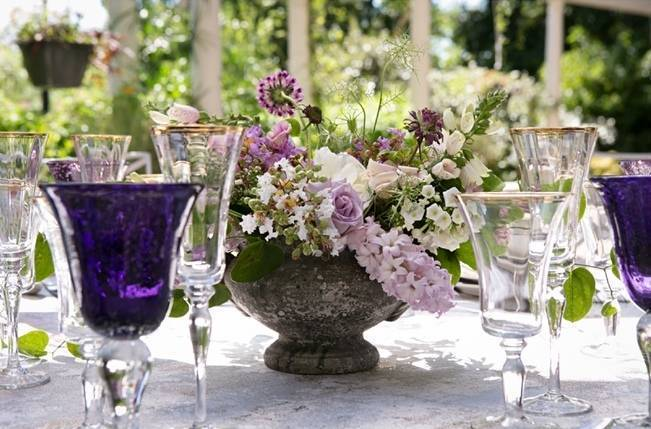 Lovely in Lilac Wedding Styled Shoot at Chandor Gardens 5