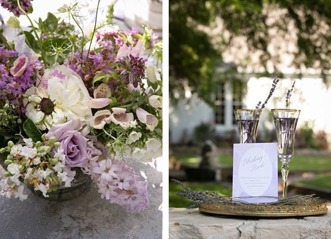 Lovely in Lilac Wedding Styled Shoot at Chandor Gardens 6