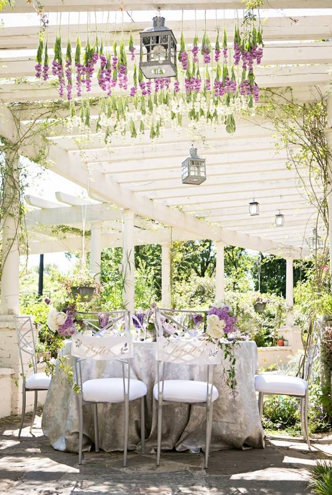 Lovely in Lilac Wedding Styled Shoot at Chandor Gardens 8