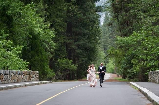 Misty Purple + Green Yosemite Valley Wedding {Duende Photo} 10