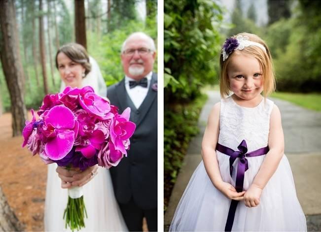 Misty Purple + Green Yosemite Valley Wedding {Duende Photo} 13