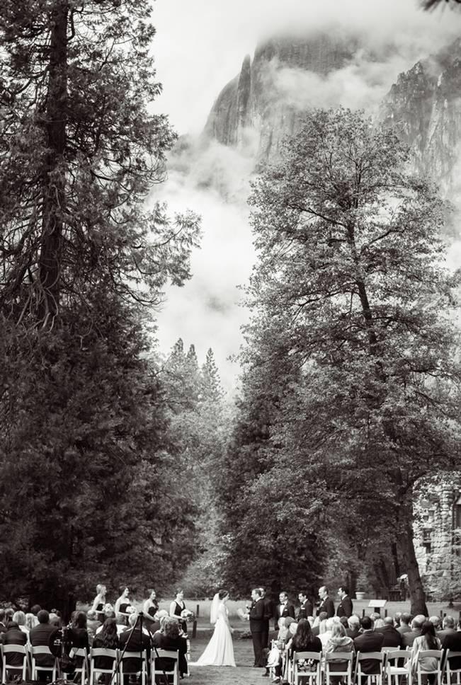 Misty Purple + Green Yosemite Valley Wedding {Duende Photo} 16