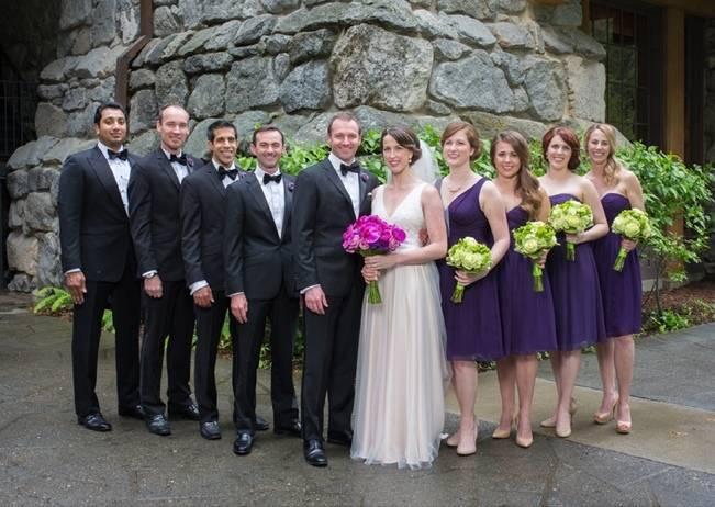 Misty Purple + Green Yosemite Valley Wedding {Duende Photo} 18