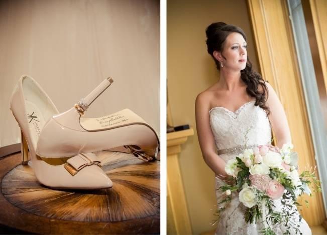 Snowy Winter Wedding in Vermont {Kathleen Landwehrle Photography} 2
