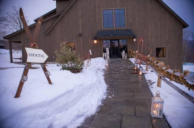 Snowy Winter Wedding in Vermont {Kathleen Landwehrle Photography} 20