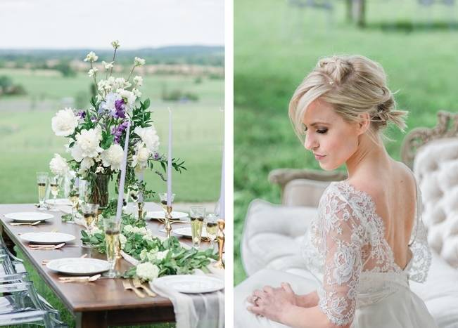 White + Lavender Springfield Manor Shoot {Red October Photography} 11