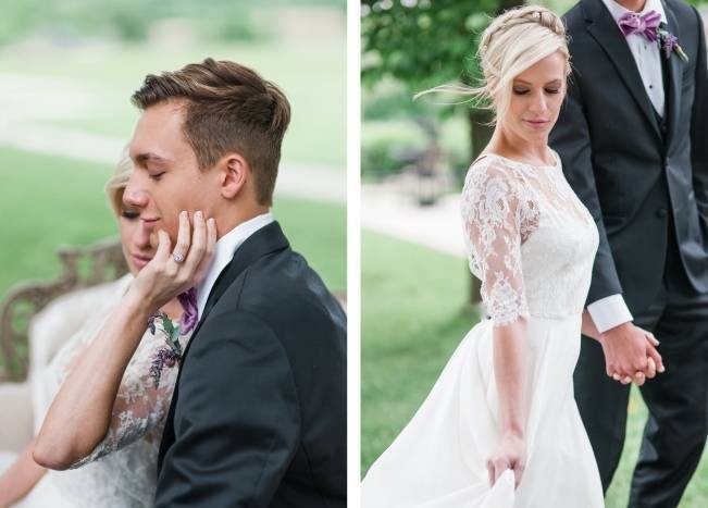 White + Lavender Springfield Manor Shoot {Red October Photography} 17