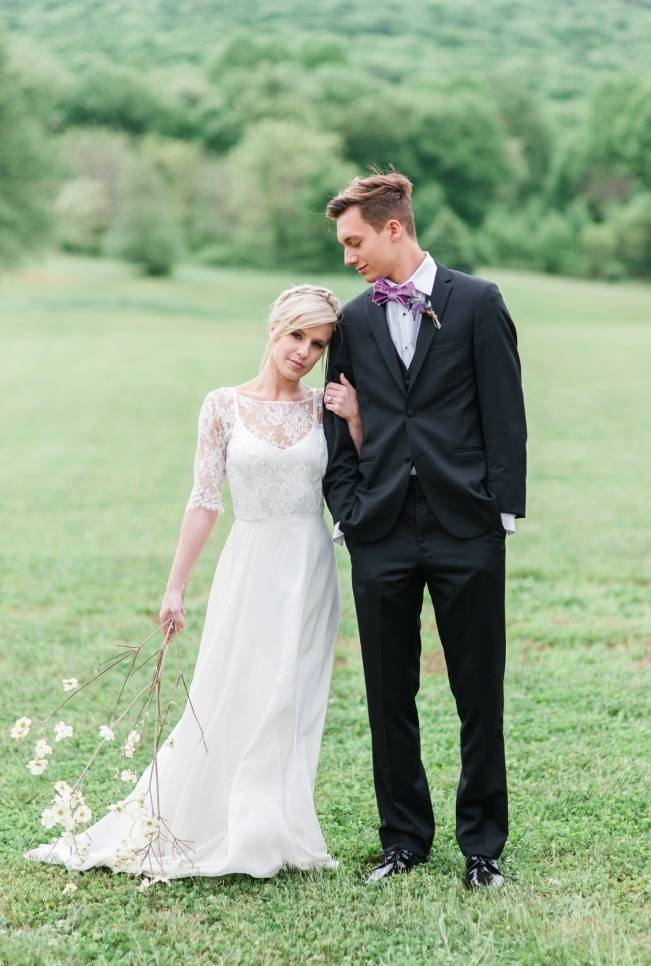 White + Lavender Springfield Manor Shoot {Red October Photography} 18