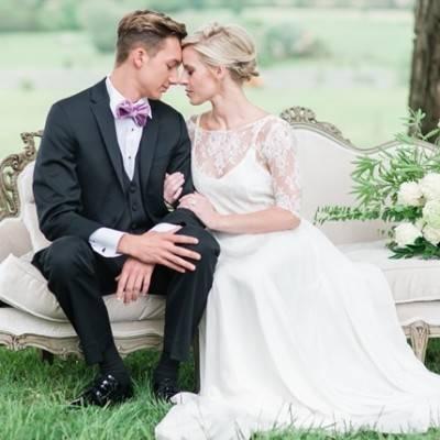 Elegant Outdoor Wedding Inspiration at Springfield Manor