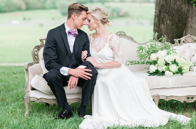 White + Lavender Springfield Manor Shoot {Red October Photography} 7