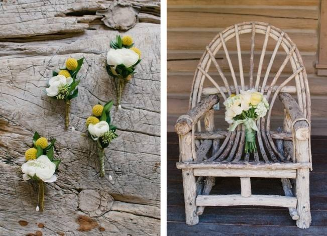 Yellow + Blue Utah Wedding at Red Cliff Ranch {Ivy & Stone} 2