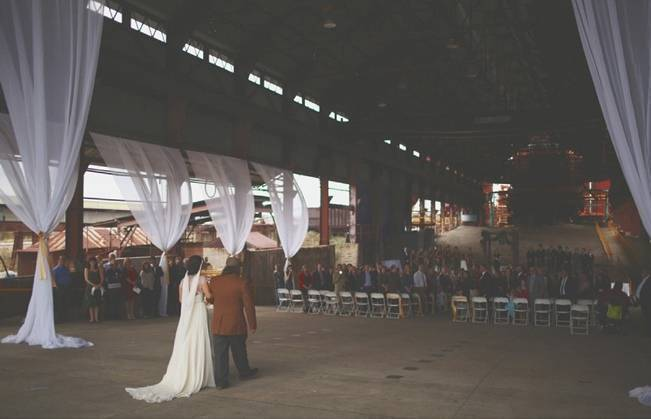 Artsy Industrial Wedding with Rustic + Vintage Details {j.woodbery photography} 12