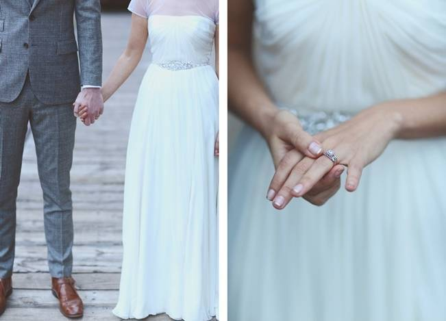 Artsy Industrial Wedding with Rustic + Vintage Details {j.woodbery photography} 18