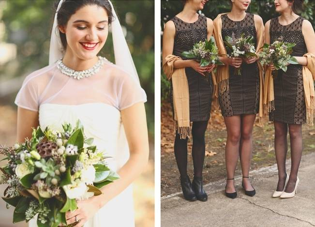 Artsy Industrial Wedding with Rustic + Vintage Details {j.woodbery photography} 4