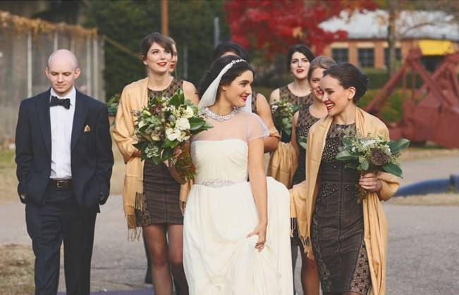 Artsy Industrial Wedding with Rustic + Vintage Details {j.woodbery photography} 7