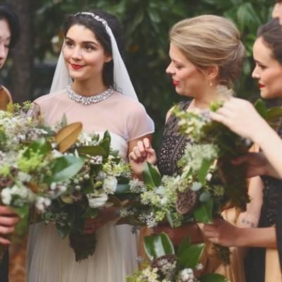 Artsy Industrial Wedding with Rustic + Vintage Details
