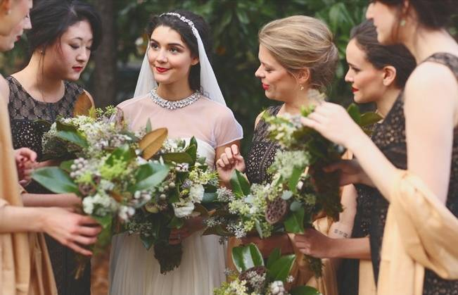 Artsy Industrial Wedding with Rustic + Vintage Details {j.woodbery photography} 9