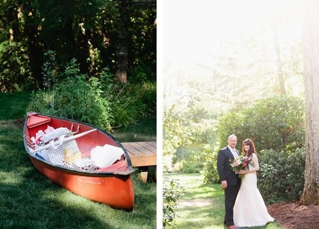 Beautiful Outdoor Oregon Wedding Reception at Ron's Pond {Kel Ward Photography} 16