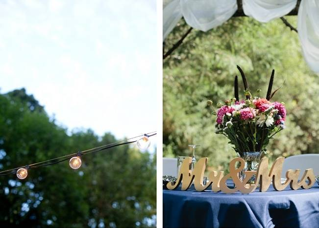 Beautiful Outdoor Oregon Wedding Reception at Ron's Pond {Kel Ward Photography} 23