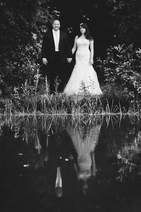 Beautiful Outdoor Oregon Wedding Reception at Ron's Pond {Kel Ward Photography} 24