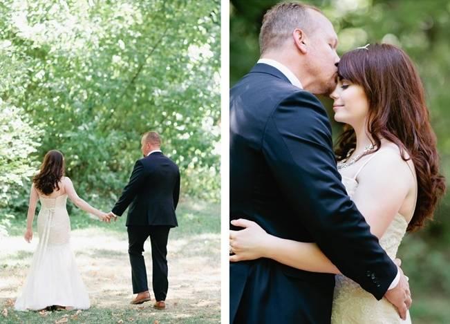 Beautiful Outdoor Oregon Wedding Reception at Ron's Pond {Kel Ward Photography} 7