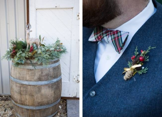 Christmas Styled Wedding Shoot {Shelly Taylor Photography} 10