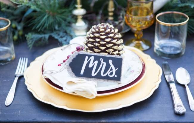 Christmas Styled Wedding Shoot {Shelly Taylor Photography} 11