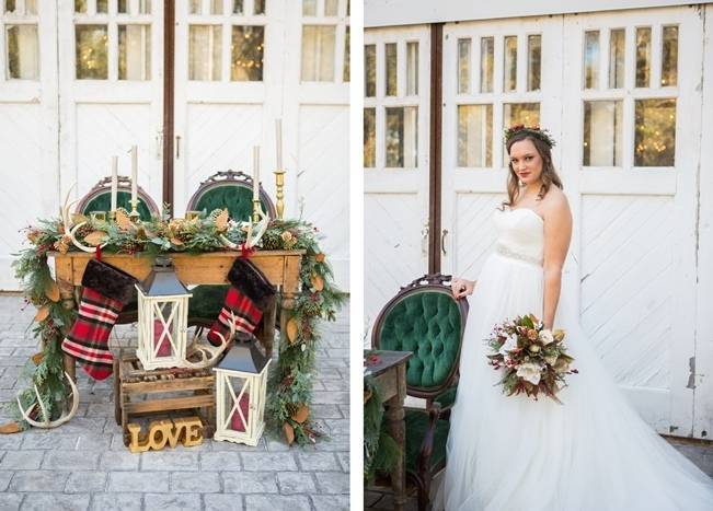 Christmas Styled Wedding Shoot {Shelly Taylor Photography} 14