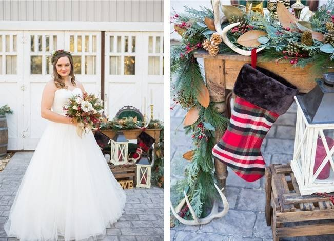 Christmas Styled Wedding Shoot {Shelly Taylor Photography} 16