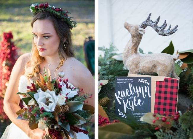 Christmas Styled Wedding Shoot {Shelly Taylor Photography} 2