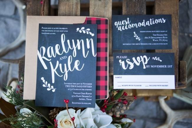 Christmas Styled Wedding Shoot {Shelly Taylor Photography} 3
