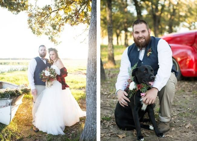 Christmas Styled Wedding Shoot {Shelly Taylor Photography} 8