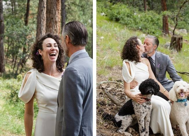 Colorado Mountain Wedding with Farm Table Reception 10
