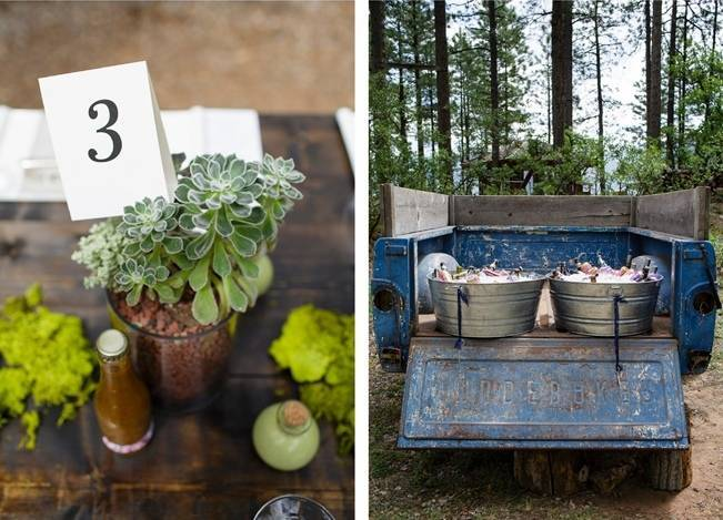 Colorado Mountain Wedding with Farm Table Reception 18