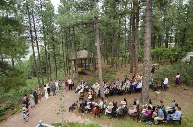Colorado Mountain Wedding with Farm Table Reception 7