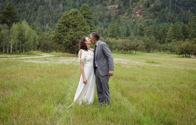Colorado Mountain Wedding with Farm Table Reception 9